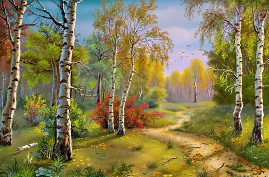 Лесные сады плодовых деревьев